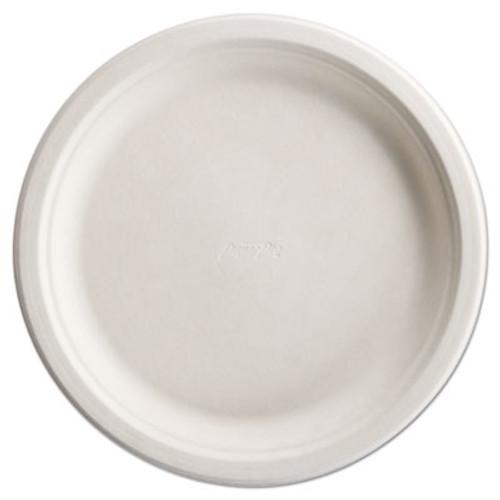 "Chinet PaperPro Naturals Fiber Dinnerware, Plate, 10 1/2"" Round Natural 125/PK 4 PK/CT (HUH PAPRO2)"