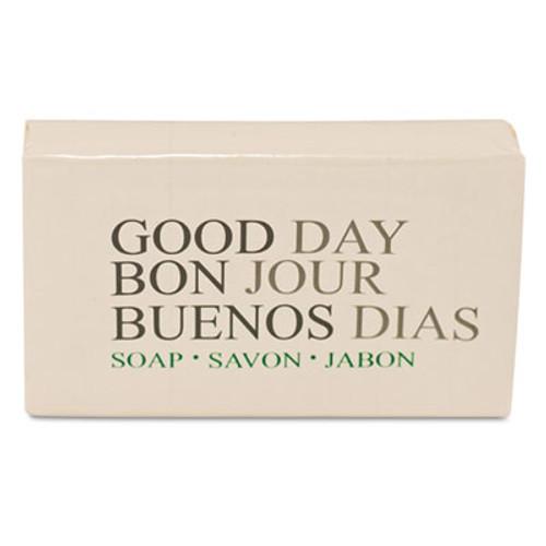 Good Day Amenity Bar Soap, Pleasant Scent, 500/Carton (GTP 390150)