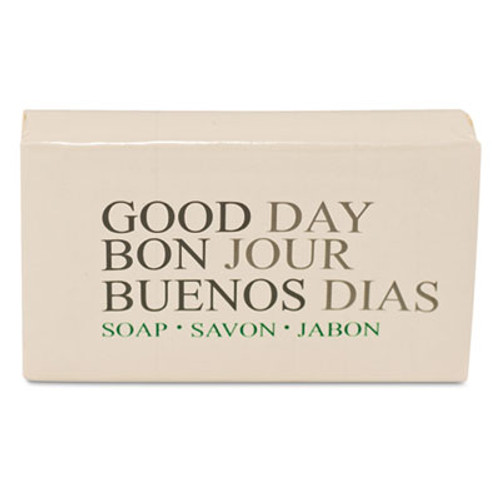Good Day Amenity Bar Soap, Pleasant Scent, 500/Carton (GTP 390150)