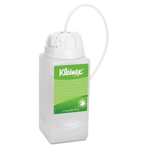 Kleenex Fragrance- & Dye-Free Foaming Skin Cleanser, 1500mL Refill (KCC 11285)