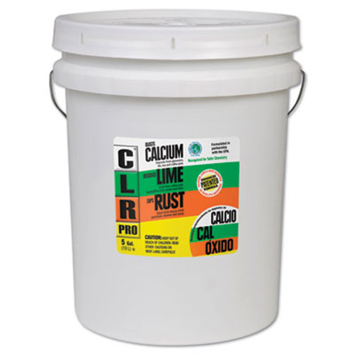 CLR Calcium, Lime and Rust Remover, 5gal Pail (JEL CL-5PRO)
