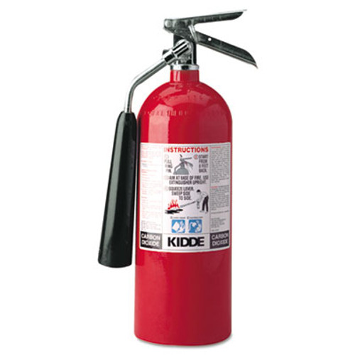 Kidde ProLine 5 CO2 Fire Extinguisher, 5lb, 5-B:C (KDD 466180)
