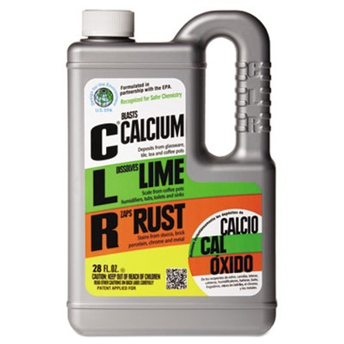 CLR Calcium, Lime and Rust Remover, 28oz Bottle, 12/Carton (JEL CL-12)