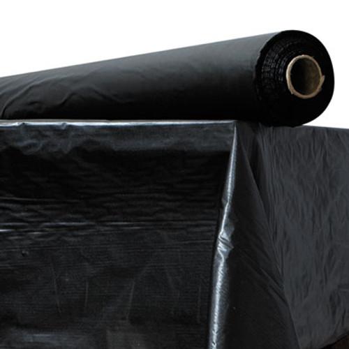 """Atlantis Plastics Plastic Table Cover, 40"""" x 300 ft Roll, Black (ATL2TCBK300)"""