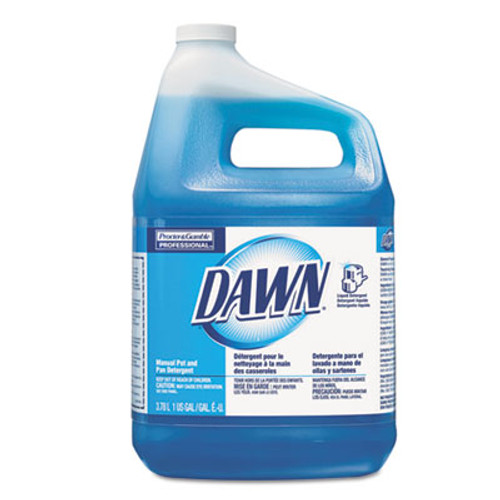 Dawn Manual Pot & Pan Dish Detergent, Original, 4/Carton (PGC 57445)