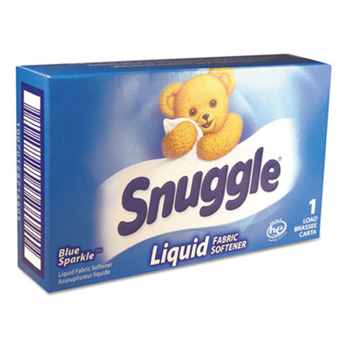 Snuggle Liquid HE Fabric Softener, Original, 1 Load Vend-Box, 100/Carton (VEN 2979996)
