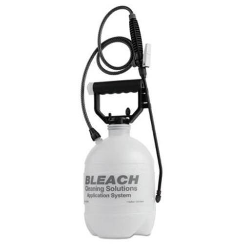 R. L. Flomaster Commercial-Grade Sprayer, Atomist Bleach, 1gal, Polyethylene, White/Black (RLF 1201BC)