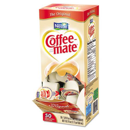 Coffee-mate Original Creamer, 0.375 oz., 50 Creamers/Box, 4 Boxes/Carton (NES 35110)