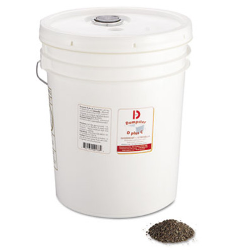 Big D Industries Dumpster D Plus C, Neutral, 25lb, Bucket (BGD 178)