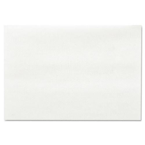 Chix Masslinn Shop Towels, 12 x 17, White, 100/Pack, 12 Packs/Carton (CHI 0930)