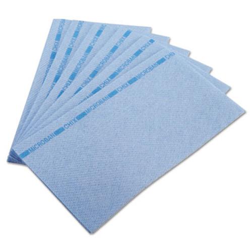 Chix Food Service Towels, 13 x 24, Blue, 150/Carton (CHI 8251)