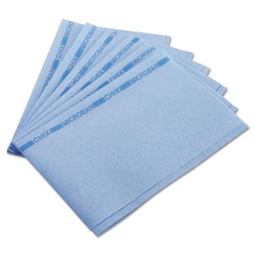 Chix Food Service Towels, 13 x 21, Blue, 150/Carton (CHI 8253)