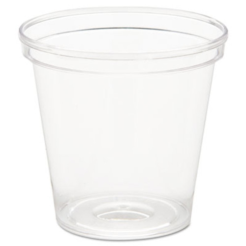 WN Comet Plastic Portion/Shot Glass, 1 oz, Clear (WNA P10)