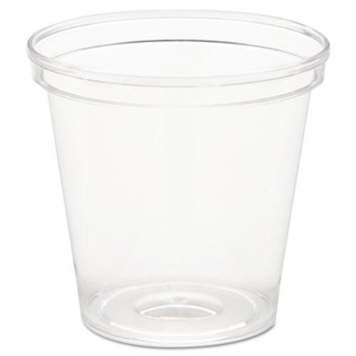 WNA Comet Plastic Portion/Shot Glass, 1 oz, Clear (WNA P10)