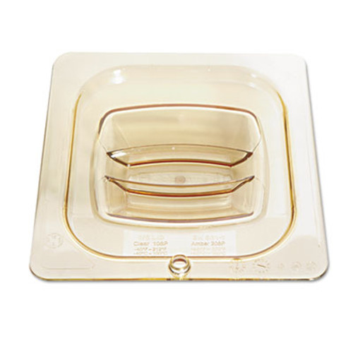 Rubbermaid Hot Food Pan Covers, 6 3/8w x 6 7/8d, Amber (RCP 208P-23 AMB)