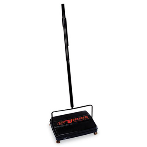 "Franklin Cleaning Technology Workhorse Carpet Sweeper, 46"", Black (FRK 39357)"