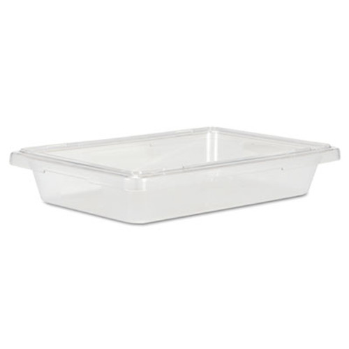Rubbermaid Food/Tote Boxes, 2gal, 18w x 12d x 3 1/2h, Clear (RCP 3307 CLE)