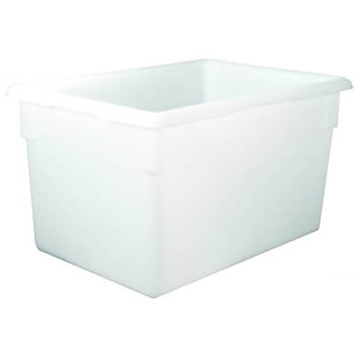 Rubbermaid Food/Tote Boxes, 21.5gal, 26w x 18d x 15h, White (RCP 3501 WHI)