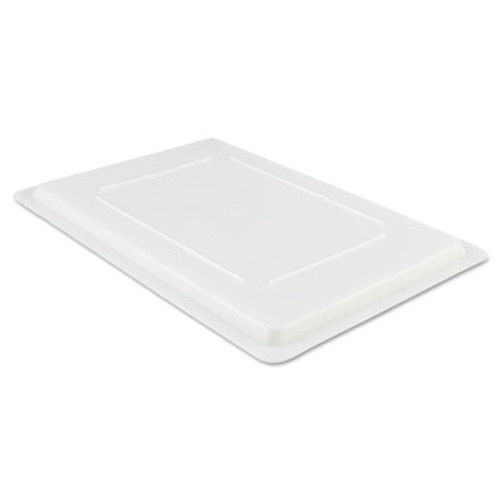 Rubbermaid Commercial Food/Tote Box Lids, 26w x 18d, White (RCP 3502 WHI)