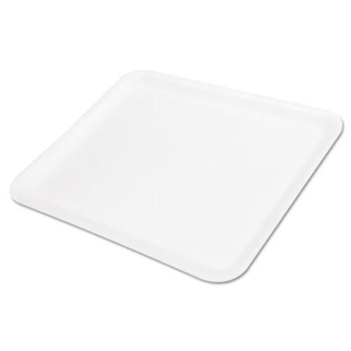 Genpak Supermarket Tray, Foam, White, 11-1/4x9-1/4, 125/Bag (GNP 12SWH)