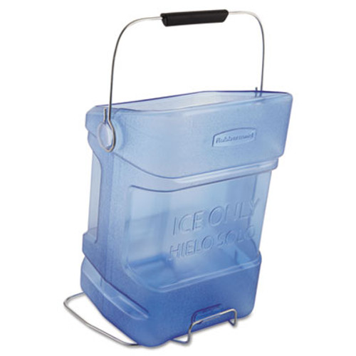 Rubbermaid Ice Tote, 5.5gal, Blue, With Hook Assembly (RCP 9F54 TBL)