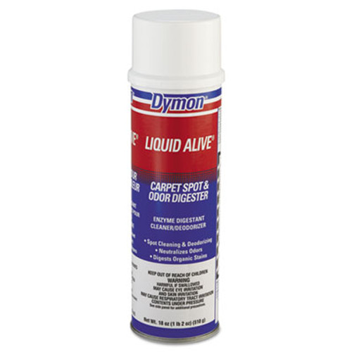 Dymon LIQUID ALIVE Carpet Cleaner/Deodorizer, 20oz, Aerosol (DYM 33420)