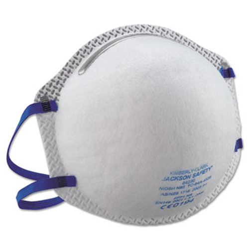 Jackson Safety* R10 Particulate Respirator, N95, White (KCC 64230)