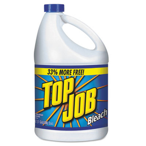Top Job Regular Bleach, 1 gal Bottle, 6/Carton (KIK 11007735044)