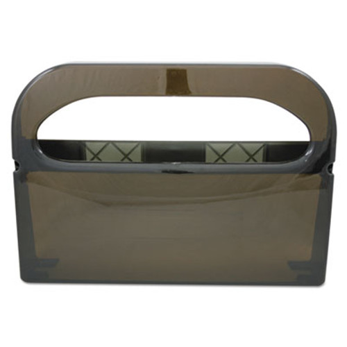 HOSPECO Health Gards Toilet Seat Cover Dispenser, Smoke, 16wx3-1/4dx11-1/2h (HOS HG-1-2 SMO)