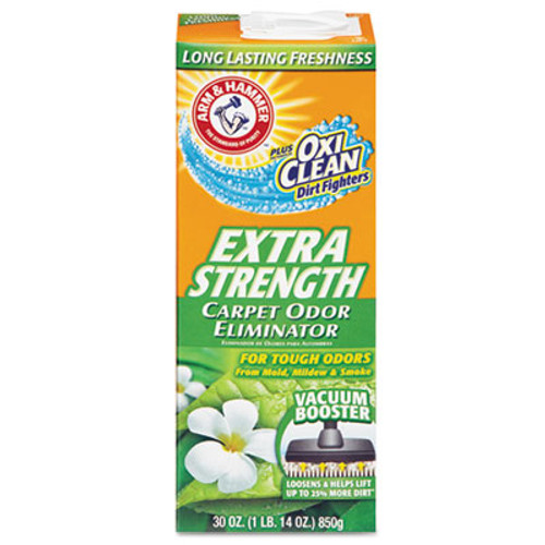Arm & Hammer Deodorizing Carpet Cleaning Powder, Fresh, 30 oz (CDC 33200-11538)
