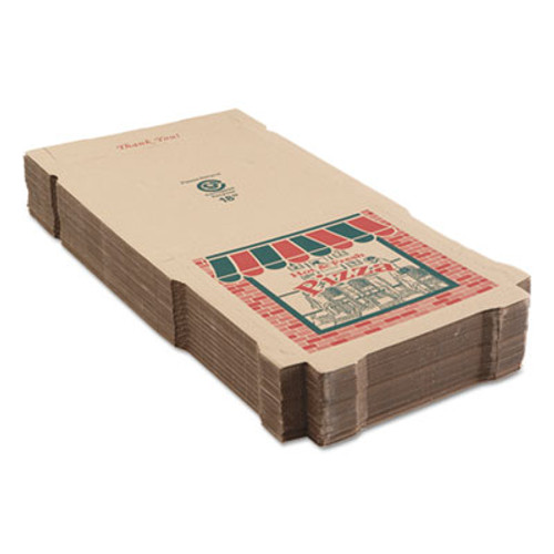 ARVCO Corrugated Pizza Boxes, Kraft, 18 x 18 (ARV9184314)