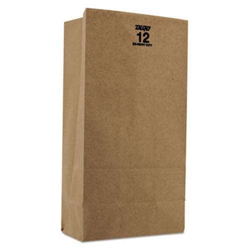 General #12 Paper Grocery, 60lb Kraft, Extra Heavy-Duty 7 1/16x4 1/2 x12 3/4, 1,000 bags (BAG GX12)