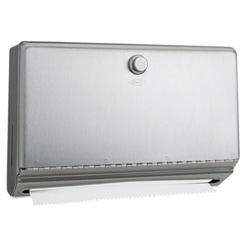 Bobrick Surface-Mounted Paper Towel Dispenser, Stainless Steel, 10 3/4 x 4 x 7 1/8 (BOB 2621)