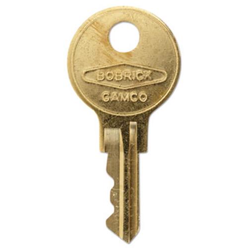 Bobrick Cat 74 Key for Towel Dispensers, Metal Key (BOB 330-43)