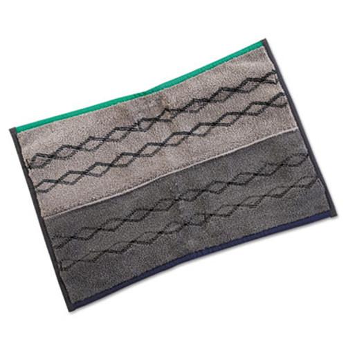 Rubbermaid Pulse Executive Double-Sided microfiber Flat Mop Head, 17 x 12, Dark Gray, 6/CT (RCP 1863887)