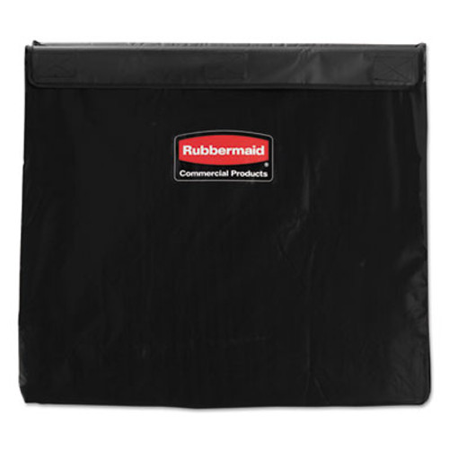 Rubbermaid Collapsible X-Cart Replacement Bag, 8 Bushel, 220 Lbs, Vinyl, Black (RCP 1881783)