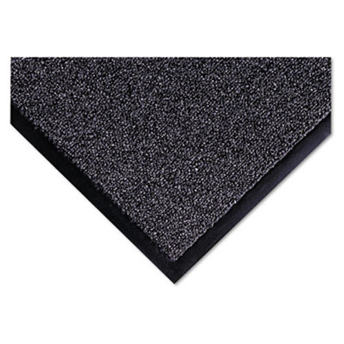 Crown Cross-Over Indoor/Outdoor Wiper/Scraper Mat, Olefin/Poly, 36 x 60, Gray (CRO CS35 GRA)