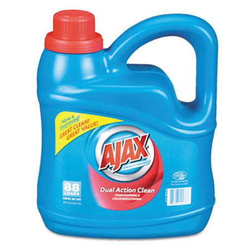 Ajax Dual Action Clean Liquid Laundry Detergent, Fresh Scent, 134 oz Bottle, (PBC 49276)