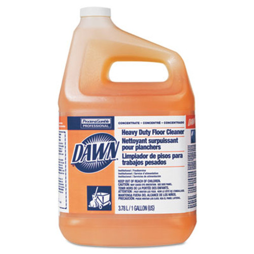 Dawn Heavy-Duty Floor Cleaner, Neutral Scent, 1gal Bottle, 3/Carton (PGC 08789)