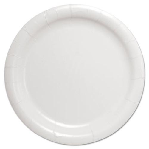 "Dart Bare Eco-Forward Clay-Coated Paper Dinnerware, Plate, 9"" Diameter, White (SCC HP9S)"