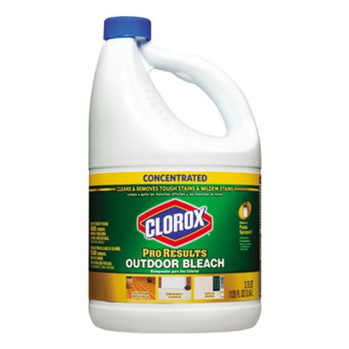 Clorox Outdoor Bleach, 120 oz Bottle, 3/Carton (CLO 30791)