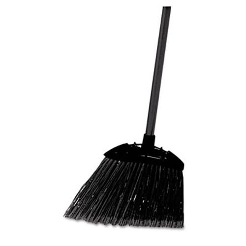 "Rubbermaid Lobby Pro Broom, Poly Bristles, 35"" Metal Handle, Black (RCP 6374)"