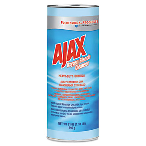 Ajax Oxygen Bleach Powder Cleanser, 21oz Can, 24/Carton (CPC 14278)