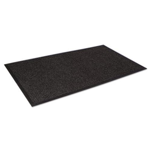 Crown Super-Soaker Wiper Mat w/Gripper Bottom, Polypropylene, 45 x 68, Charcoal (CRO SSR046 CHA)
