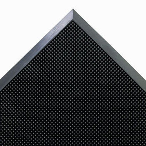 Crown Mat-A-Dor Entrance/Scraper Mat, Rubber, 24 x 32, Black (CRO MASR42 BLA)