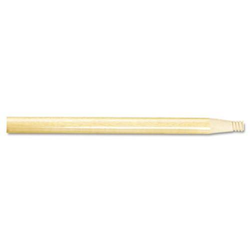 "Boardwalk Threaded End Broom Handle, 15/16"" x 60"", Natural Wood (BWK 122)"
