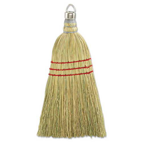 Boardwalk Whisk Broom, Corn Fiber Bristles, Yellow, 12/Carton (UNS 951WC)