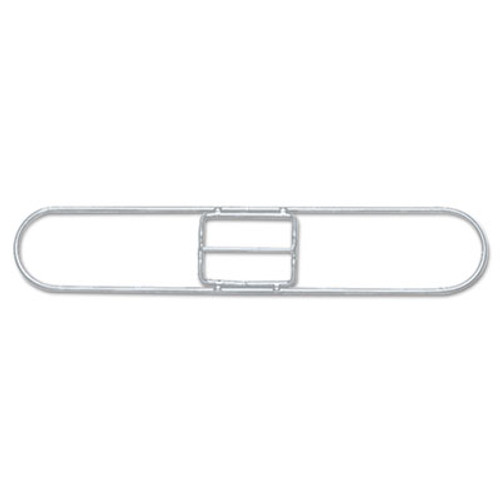 Boardwalk Clip-On Dust Mop Frame, 18w x 5d, Zinc Plated (UNS 1418)