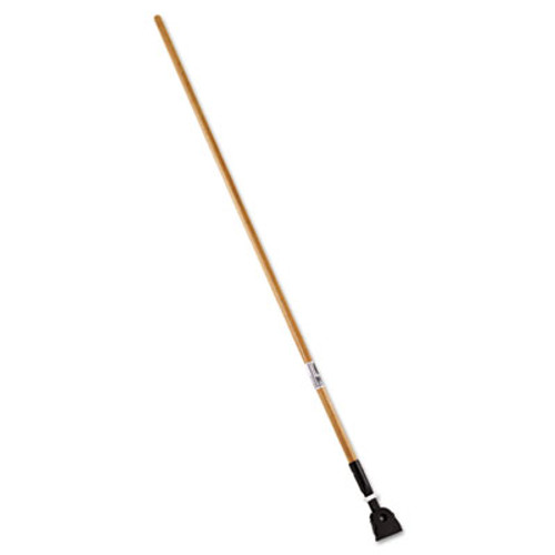 Rubbermaid Snap-On Hardwood Dust Mop Handle, 1 1/2 dia x 60, Natural (RCP M116)
