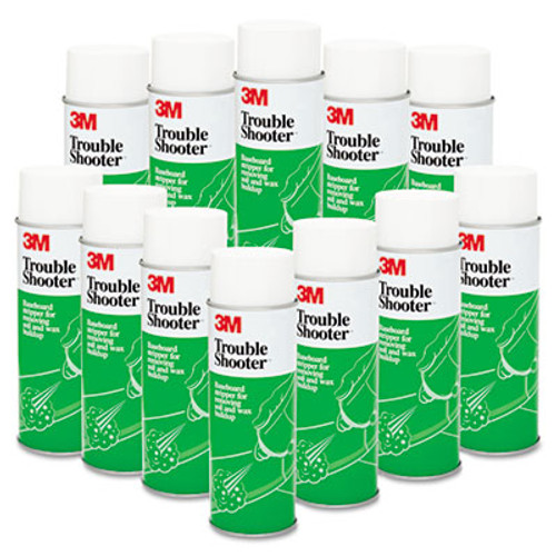 3M TroubleShooter Baseboard Stripper, 21oz, Aerosol, 12/Carton (MCO 14001)